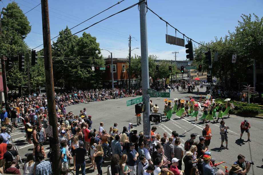 Scenes from the 30th annual Fremont Solstice Festival, June 16, 2018. Photo: GENNA MARTIN, SEATTLEPI.COM / SEATTLEPI.COM