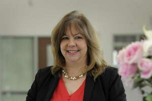 Lorrie Rodrigue has been named the new Newtown schools superintendent. Photo Wed., Feb. 28, 2018.