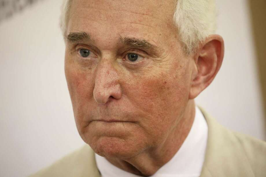 Roger Stone in Pasadena, Calif., in July 2017. Photo: Patrick T. Fallon, Bloomberg / © 2017 Bloomberg Finance LP