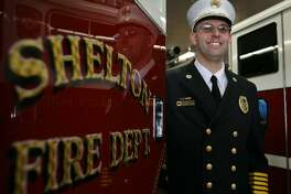 Francis Jones, the new chief of the Shelton Fire Department. 12/03/10