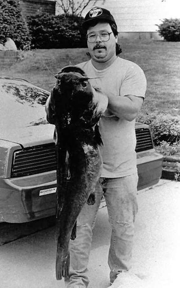 Huge flathead cats like this one hauled in from the Carlyle tailwaters can be found at most rivers and each of Illinois three large Corps of Engineer reservoirs. Photo:       For The Telegraph