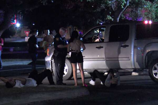 San Antonio Police say one man was shot following an argument at a North Side club Sunday morning, June 17, 2018. The victim was transported to University Hospital in stable condition and the shooter remains at large.