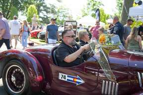 "German cars were on display at Waveny Park in New Canaan during Caffeine and Carburetors on June 17, 2018. The Father's Day installment of the car show series was called  ""BMW Munichfest and Legacy Cars."" Were you SEEN?"