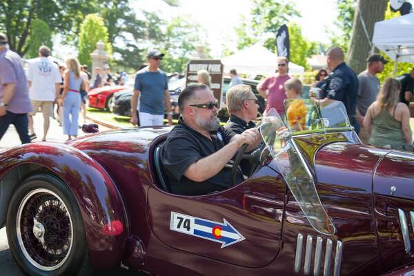 "German cars were on display at Waveny Park in New Canaan during Caffeine and Carburetors on    June 17, 2018   . The Father's Day installment of the car show series was called  ""BMW Munichfest and Legacy Cars."" Were you SEEN?"