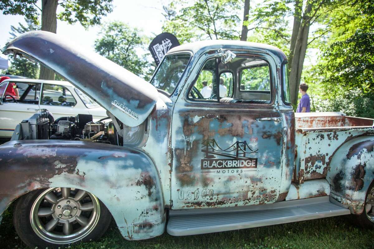 German cars were on display at Waveny Park in New Canaan during Caffeine and Carburetors onJune 17, 2018. The Father's Day installment of the car show series was called