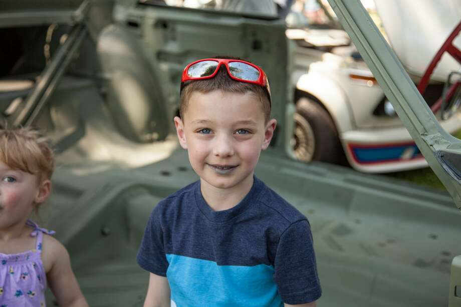 "German cars were on display at Waveny Park in New Canaan during Caffeine and Carburetors on June 17, 2018. The Father's Day installment of the car show series was called  ""BMW Munichfest and Legacy Cars."" Were you SEEN? Photo: Christina Rodrigues"