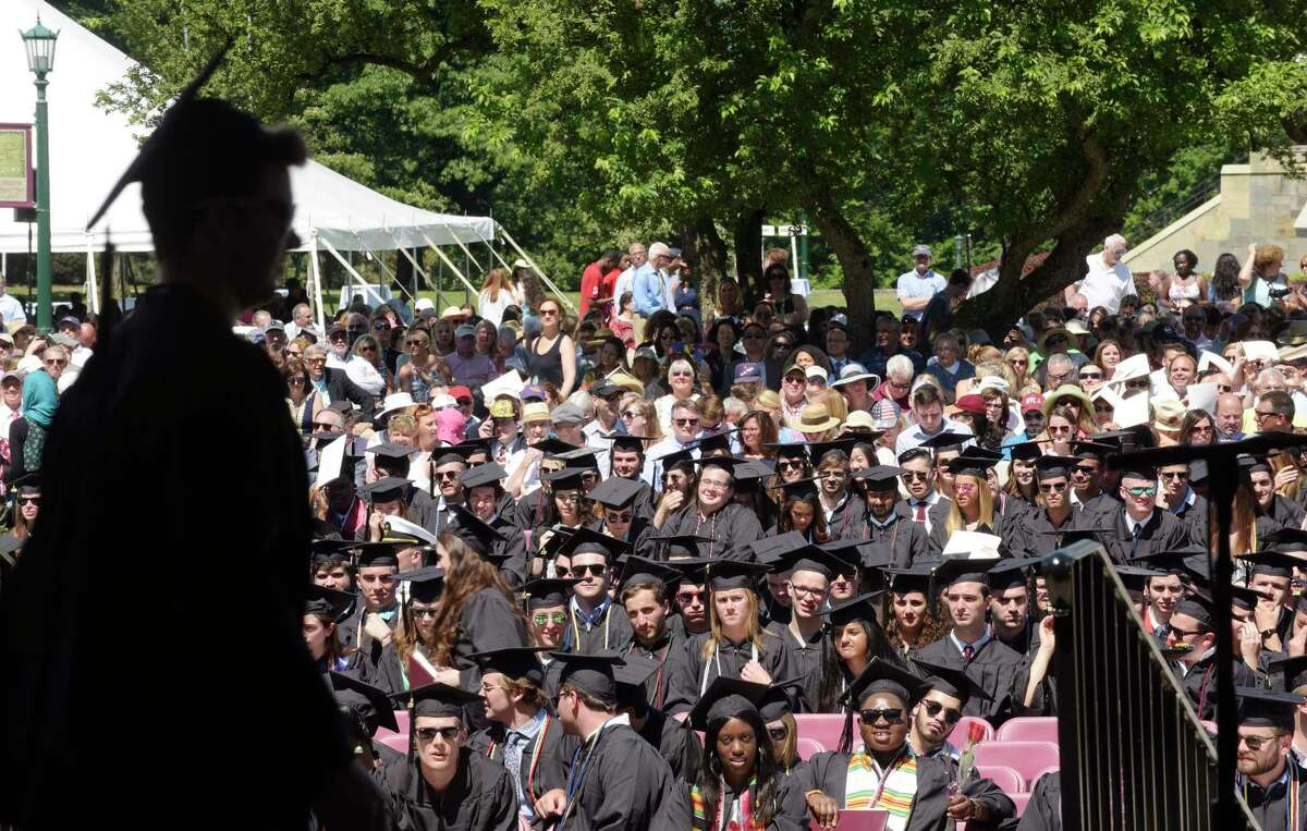 Click through the slideshow to find out which colleges and universities are the best in New York in 2018, according toU.S. News & World Report. *Note, to determine the ranking, schools are given an overall score between 0 and 100.Schools with equal scores are marked as tied.Click for complete methodology.
