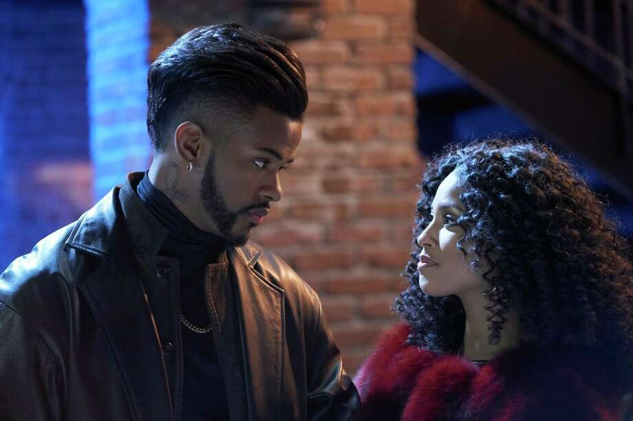 "This image released by Sony Pictures shows Trevor Jackson , left, and Lex Scott Davis in a scene from the film, ""Superfly."" (Quantrell D. Colbert/Sony Pictures via AP) Photo: Quantrell D. Colbert / © 2018 CTMG, Inc. All Rights Reserved. **ALL IMAGES ARE PROPERT"