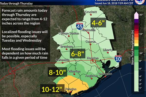State Of Texas Weather Map.Tropical Disturbance Moving Into Texas Bringing Rain