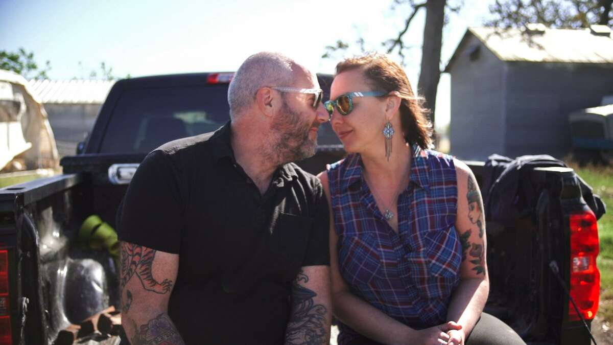 """Chef Richard Knight and his wife Carrie are the hosts of a reality series called """"Show Us Your Goods"""" that highlights the work of local farmers and chefs."""
