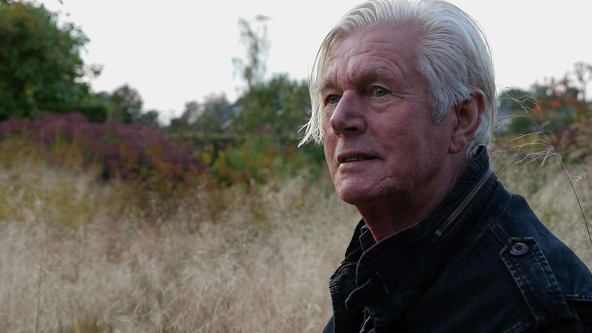 Dutch landscape designer Piet Oudolf, the subject of the documentary