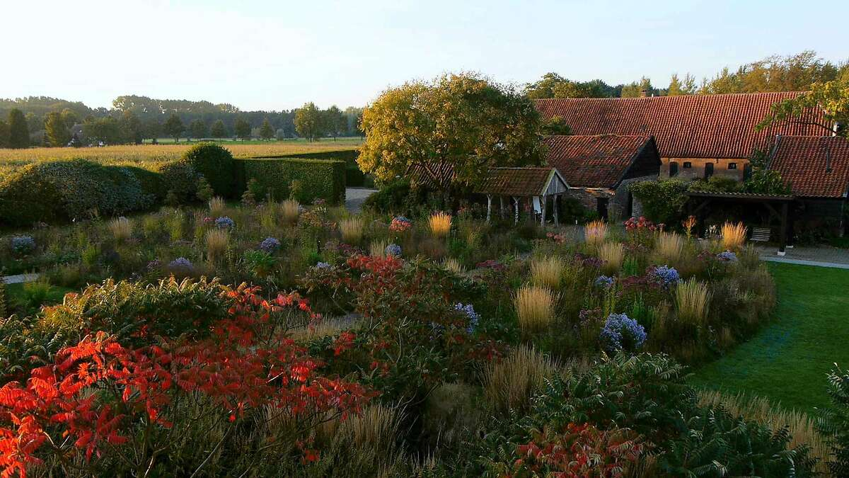 One of the gardens designed by Dutch landscape designer Piet Oudolf, the subject of the documentary