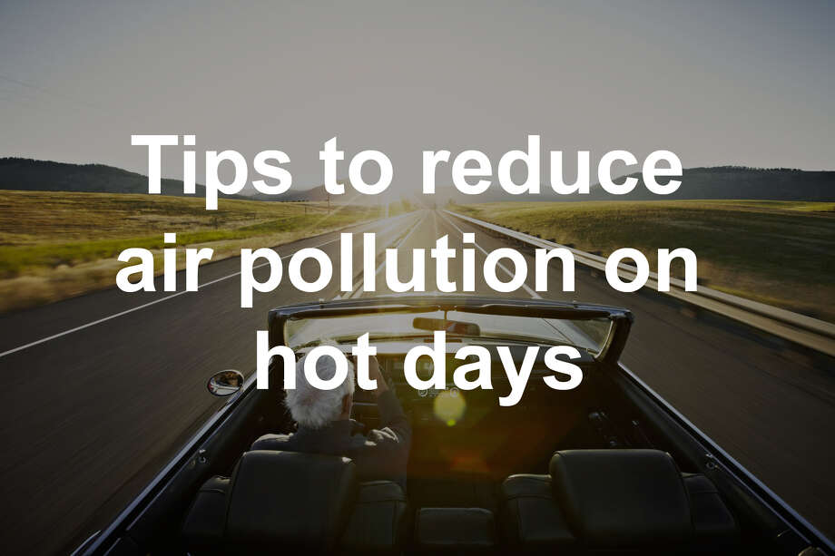 DEEP recommends simple, common sense steps to reduce your contribution to air pollution...