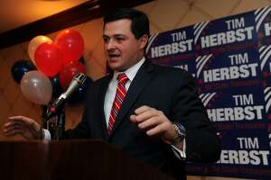 Republican candidate for governor Tim Herbst