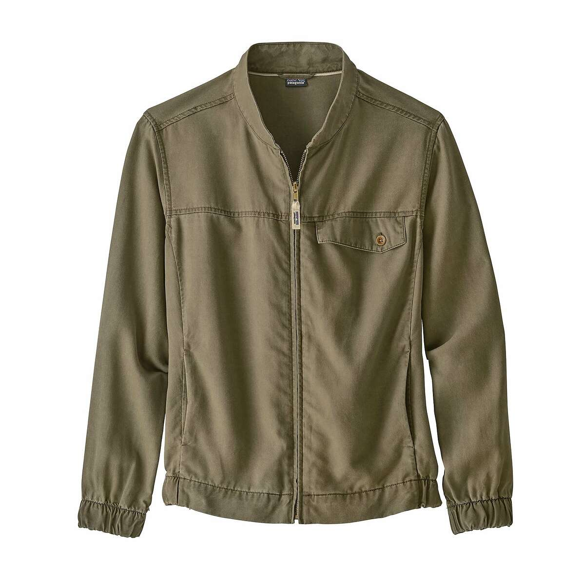 Patagonia�s ReCircle line is made from Refibra lyocell fabric, of 80 percent wood pulp from sustainably managed forests and 20 percent recycled cotton scraps.
