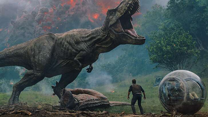 """Jurassic World: Fallen Kingdom""  (Universal Pictures and Amblin Entertainment)"