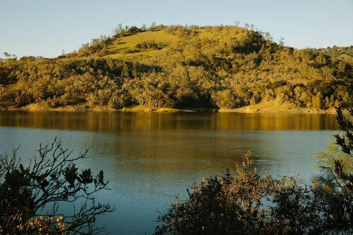 Moore Creek Park is seen across Lake Hennessey in St. Helena, Calif. Friday, Feb. 16, 2018.