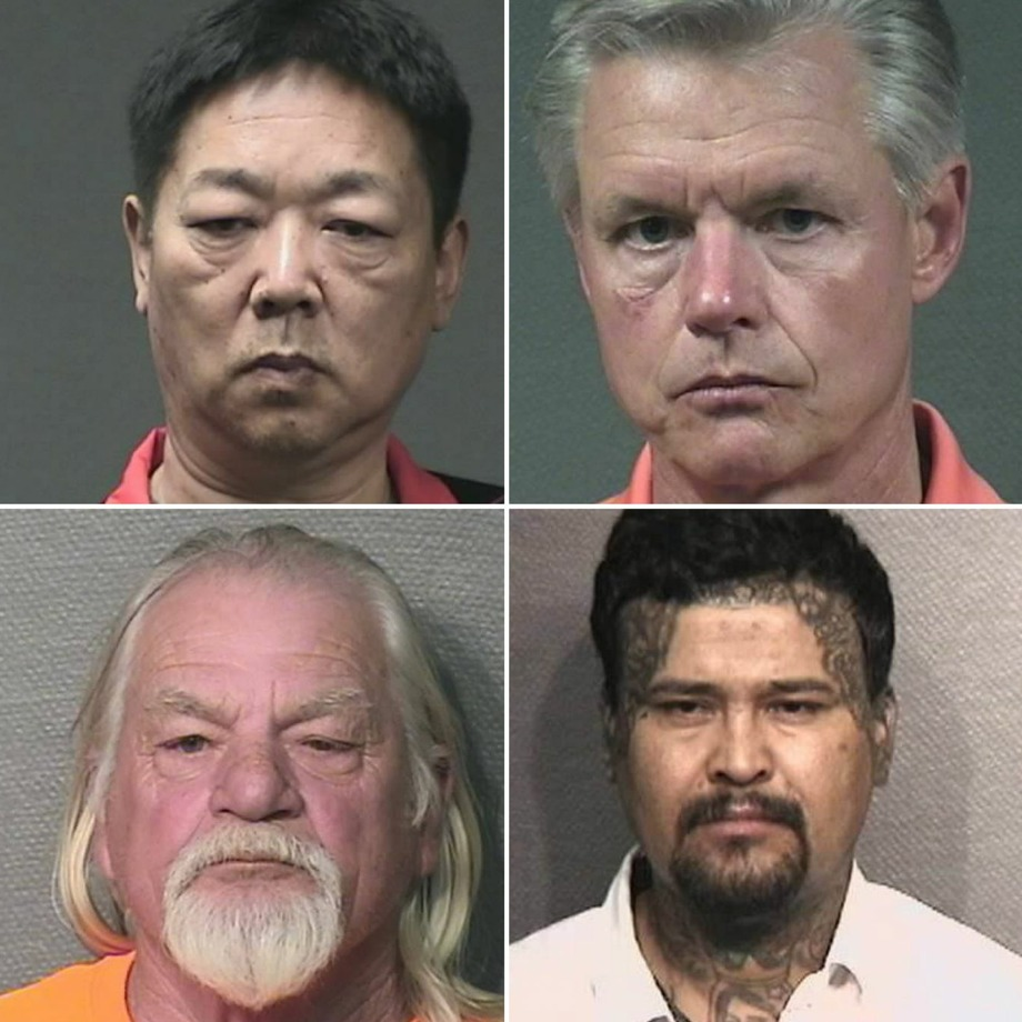 More than three dozen men were arrested by the Houston Police Department in May on sex-trade related charges. Photo: Houston Police Department