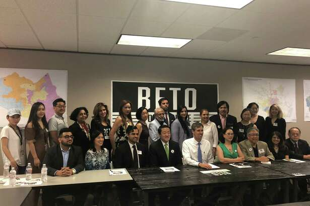 Leaders of the Asian-American community had the chance to ask questions and bring up issues that mattered to them at a town hall held June 15 by Congressman and U.S. Senate candidate Beto O'Rourke.