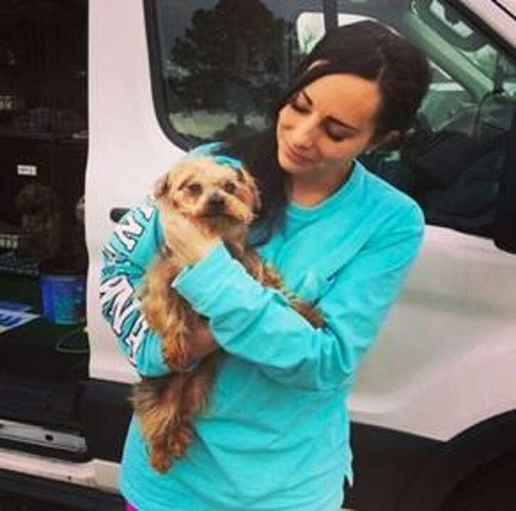 Larissa Gavin, Lola'sLucky Day founder and president, has helped to place more than 3,000 unwanted Houston-area dogs with families and individuals in her home state of Wisconsin.