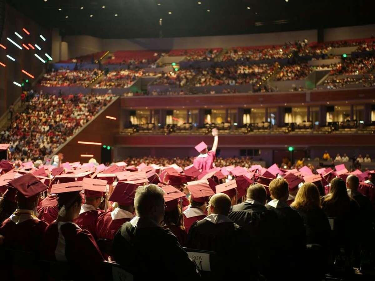 #18: Fort Bend ISD Growth rate: 1.52 percent Enrollment in 2016-2017: 74,146 Enrollment in 2017-2018: 75,275 Change: +1,129 Scenes from Fort Bend ISD high school graduations.