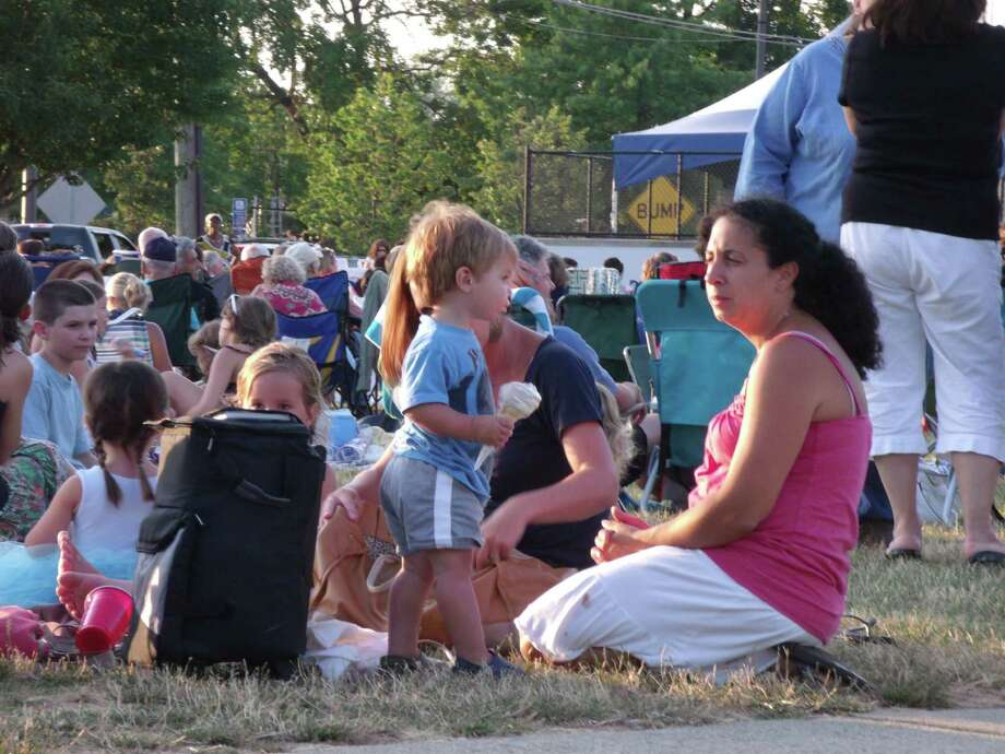 Concertgoers at a Summer Concert Series event at Calf Pasture Beach. Photo: Todd Tracy / Todd Tracy / Stamford Advocate