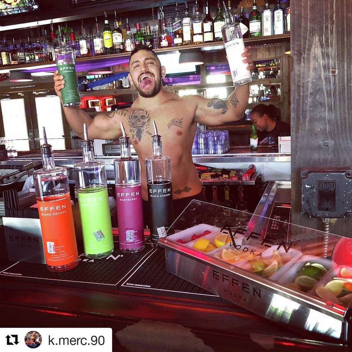 Click through for more LGBT bars and clubs in Houston. The Eagle 611 Hyde Park A popular, two-story bar that caters to a