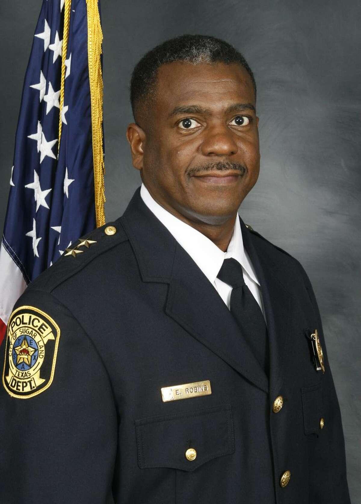 Sugar Land Police Chief Eric Robins