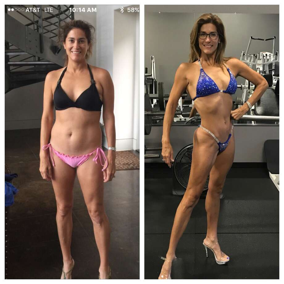"Last week, Sarah Lucero shared a drastic transformation photo showing what she looked like in February 2016 compared to July 2017. The ""after"" shot reveals the toned physique Lucero has working on over the last two years."