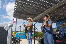 Typhoon Texas hosts live music weekends this summer as rising local talents perform country and pop sounds at the waterpark's Tidal Wave Bay Stage.