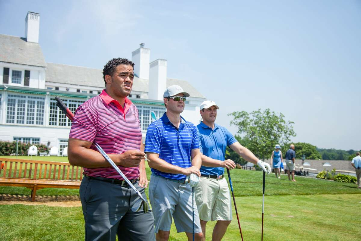 The 24th Annual Greenwich YMCA Father's Day Golf Classic took place at Greenwich Country Club on June 18, 2018. Mothers, fathers, sons and daughters enjoyed lunch, a full round of golf, cocktails, dinner, awards and a silent auction. Were you SEEN at lunch?