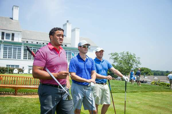 The 24th Annual Greenwich YMCA Father's Day Golf Classic took place at Greenwich Country Club on    June 18, 2018   . Mothers, fathers, sons and daughters enjoyed lunch, a full round of golf, cocktails, dinner, awards and a silent auction. Were you SEEN at lunch?