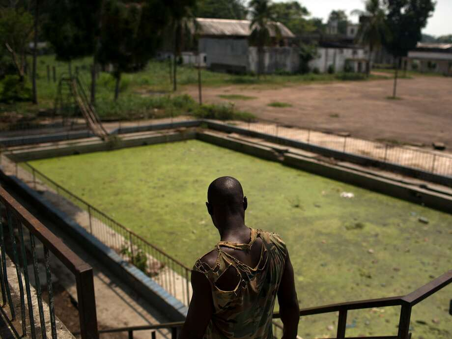 Swimming pools get abandoned because of natural disasters, poor management, and other reasons.     Years later, images of the pools are often bleak and eerie. Photo: REUTERS/Siegfried Modola