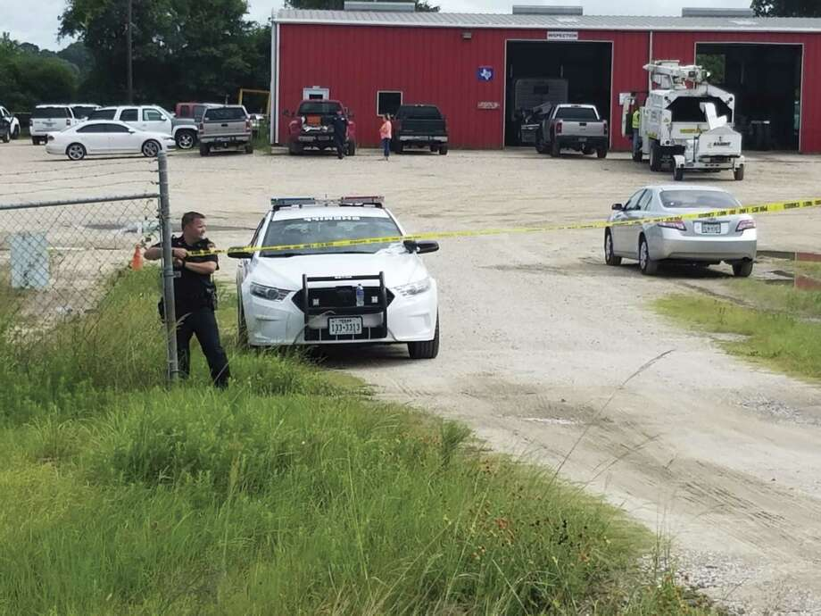 The Montgomery County Sheriff's Office continues to investigate an area where a body was reportedly found in a pond off Texas 242 on Monday, police said.