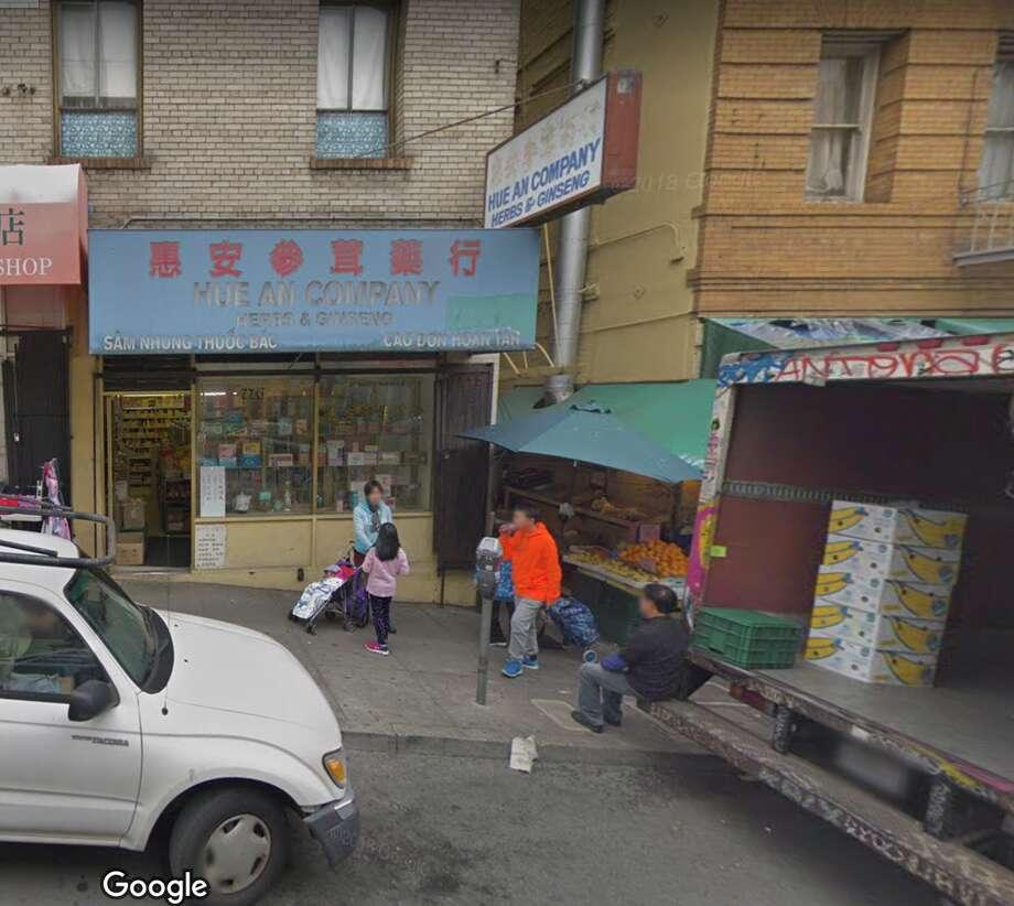 Hue An Company at 776 Jackson Street. Photo: Google Maps/Screenshot