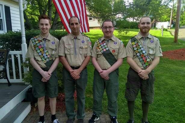 From left, Ryan Amato, Jim Amato, Cameron Amato and James Amato