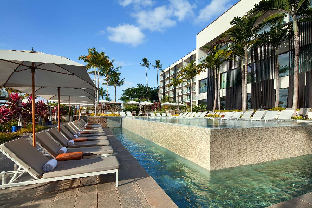 The Andaz Maui at Wailea Resort has sustainable elements that include a solar hot water system, variable speed chillers, LED lighting, motion-sensor lighting controls, and low-flow plumbing fixtures.