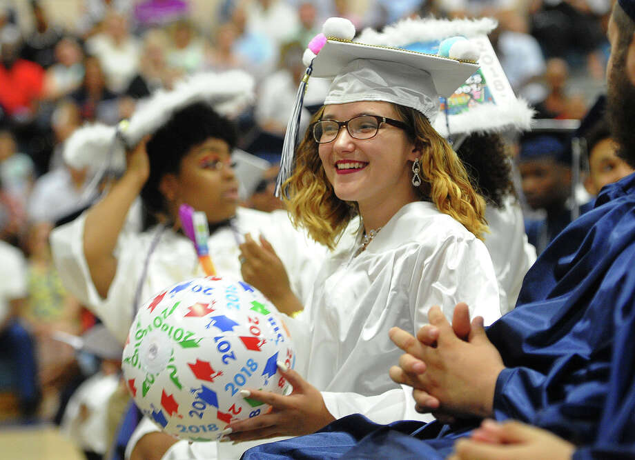 The Ansonia High School Commencement Exercises in Ansonia, Conn. on Monday, June18, 2018. Photo: Brian A. Pounds, Hearst Connecticut Media / Connecticut Post