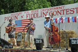 Stringed instruments of all shapes and sizes can be found at the Pickin' and Fiddlin' contest in Roxbury on July 14.