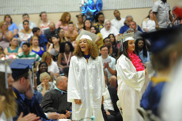 The Ansonia High School Commencement Exercises in Ansonia, Conn. on Monday, June18, 2018.