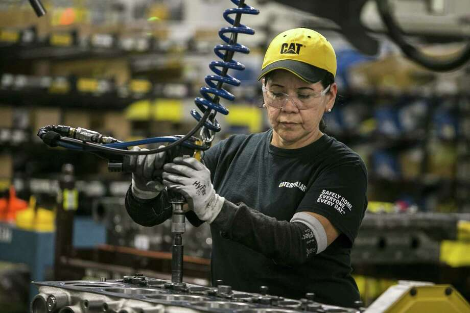 Manufacturing in Texas continued to grow in January, but the sector is still expected to slow this year. Economists have been anticipating a slowdown in economic growth due largely to uncertainties in trade and tariffs.  NEXT: See the 50 best jobs in America, according to Glassdoor. Photo: Josie Norris,  Staff / San Antonio Express-News / © San Antonio Express-News