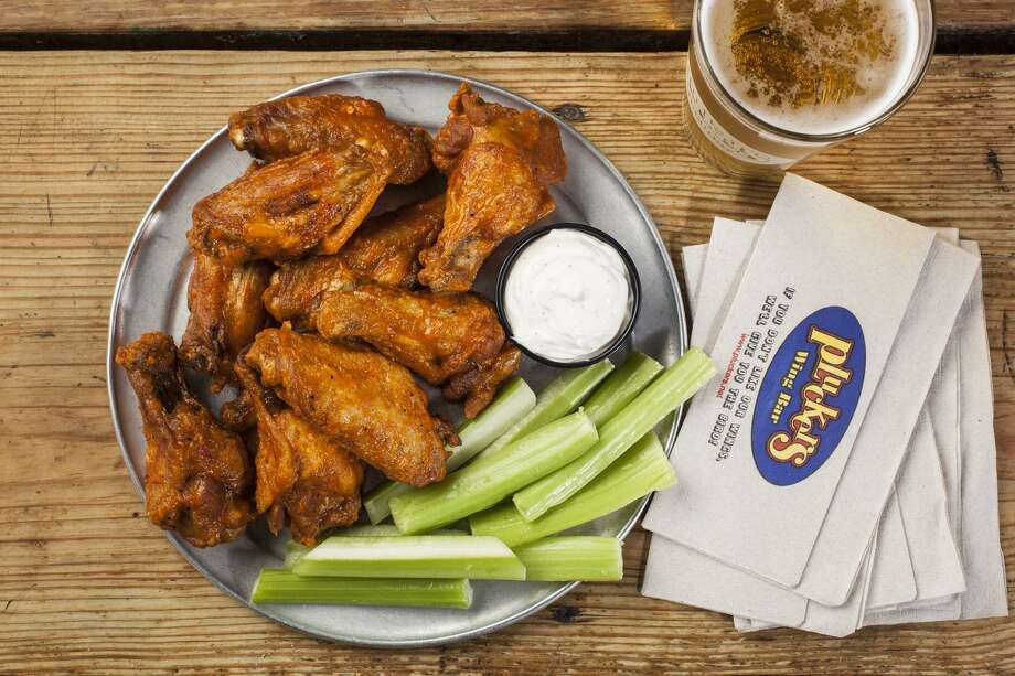 On Tuesday and Wednesday this week, Sept. 4-5, Pluckers is giving away five free, bone-in wings to students who dine in. The promotion is open to students of all ages, but high school and college-aged students must show a student ID. Photo: Courtesy Pluckers Wing Bar