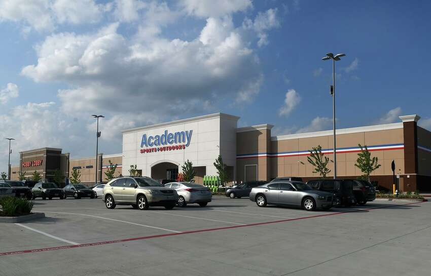Academy Sports+Outdoors - Katy  You talked yourself into working out. Now you're here, buying 10 pairs of basketball shorts for $40.