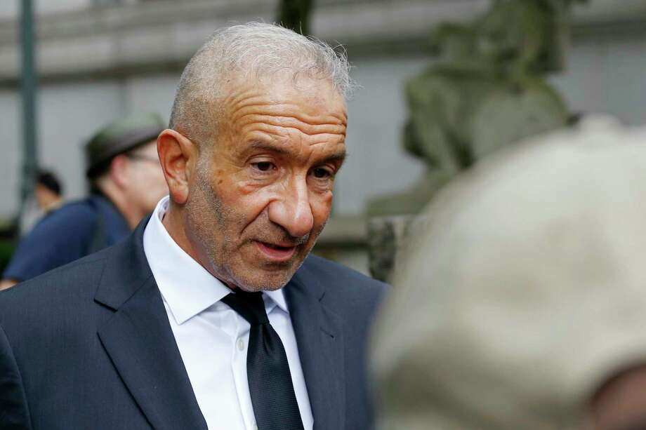 Alain Kaloyeros, a former president of the State University of New York's Polytechnic Institute, arrives at federal court for his corruption trial, Tuesday, June 19, 2018, in New York. Photo: Mark Lennihan, AP / Copyright 2018 The Associated Press. All rights reserved.