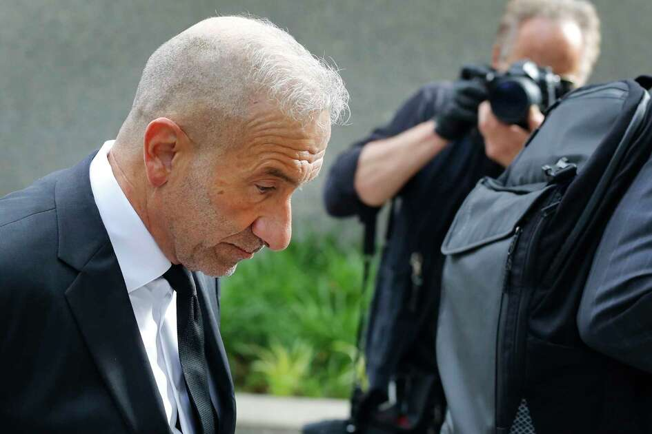 Alain Kaloyeros, a former president of the State University of New York's Polytechnic Institute, arrives at federal court for his corruption trial, Tuesday, June 19, 2018, in New York.