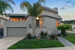 8 El Carmello Circle in Oakland is a three-bedroom Art Deco home with more than 2,000 square feet of living space.