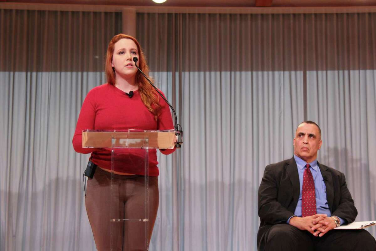 From left - Dylan Farrow and Rod Khattabi.