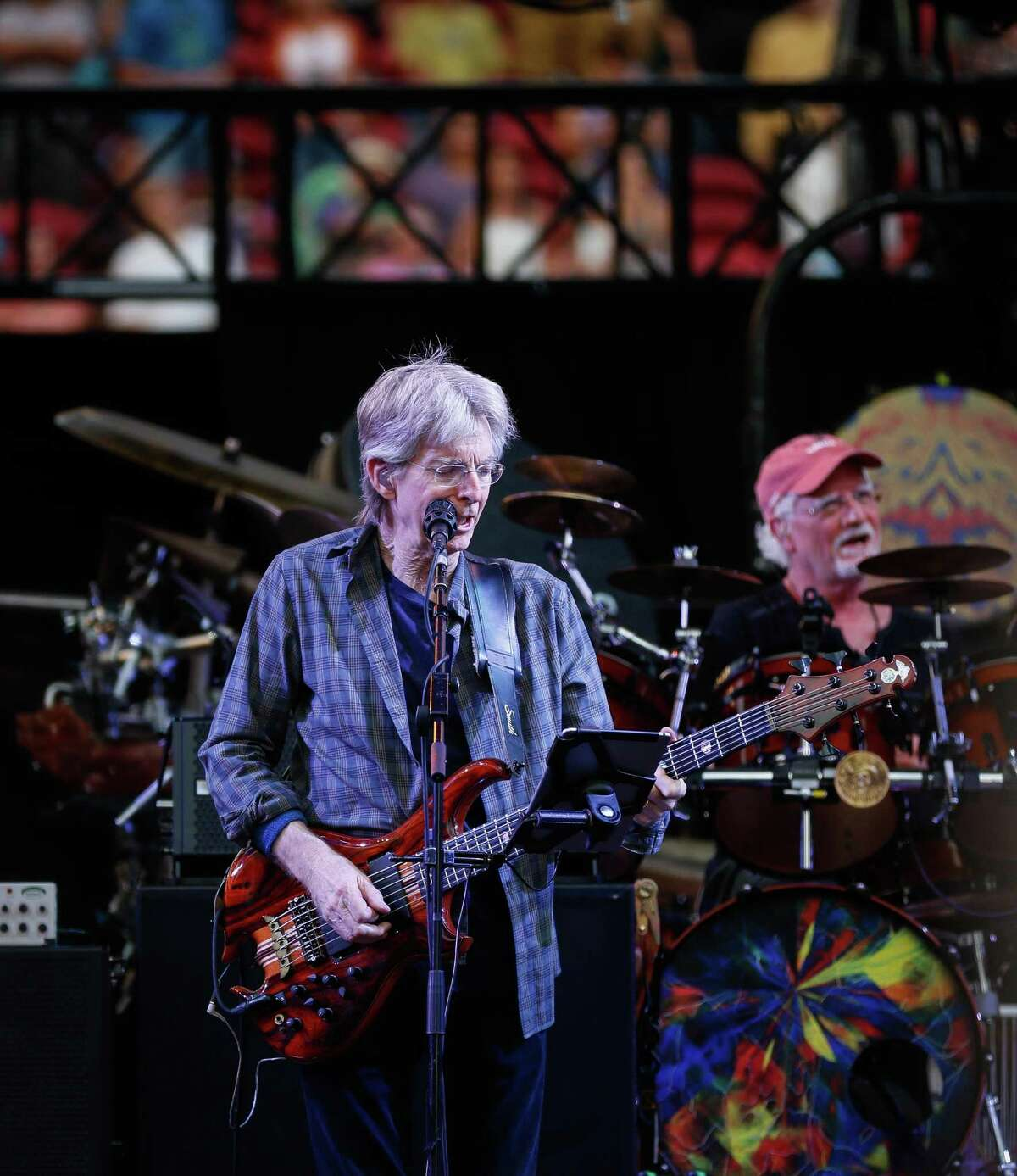 Phil Lesh performs at Levi's Stadium in 2015. The musicians didn't use a band name for the Fare Thee Well tour.