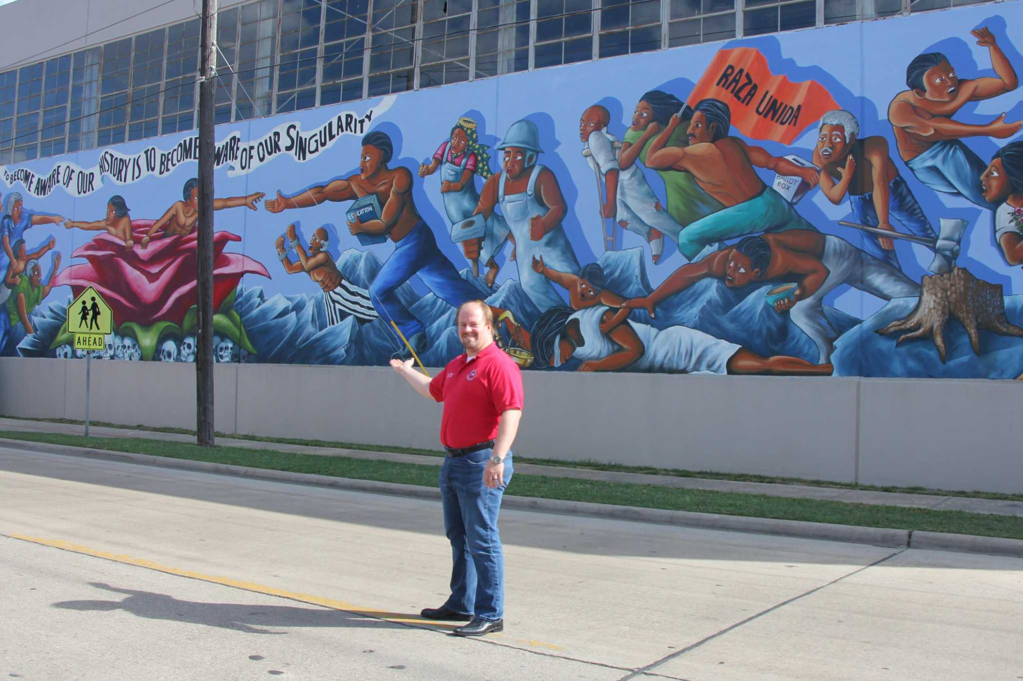 Dramatic Changes To The Rebirth Of Our Nationality Mural Documented