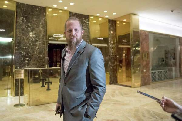Brad Parscale, now President Donald Trump's campaign manager, at Trump Tower in New York in November 2016.